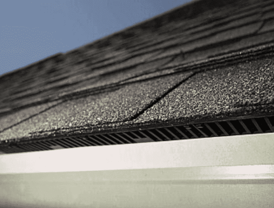 roof ventilation intake vents.